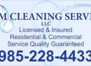 SCM CLEANING SERVICE LLC