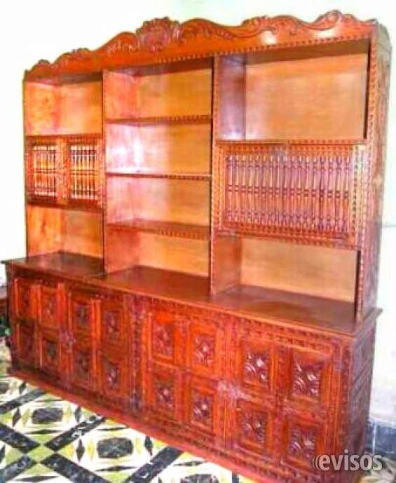 Arte y estilo colonial muebles tallados peruanos en miami, estados ...