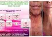 Crema de colageno contra las arrugas