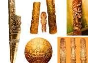 INCAS WOOD CARVING IMAGENES ANCESTRALES TALLADAS EN MADERA