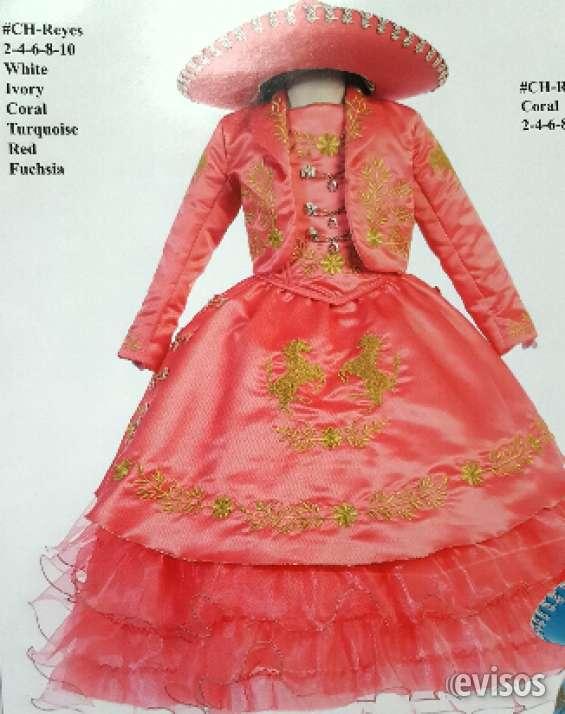 trajes charro y vestidos charro para ninos en los angeles