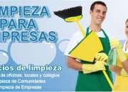 Solicito personal de limpieza