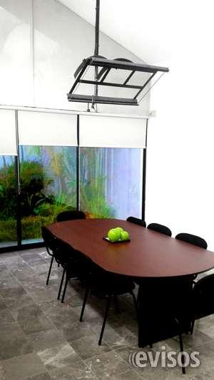 Espacio para reuniones laborales completamente amueblado