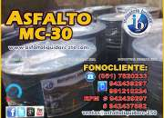 VENTA DE ASFALTO MC-30, BREA SOLIDA, BREA LIQUIDA.