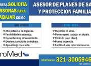ASESOR PLANES DE SALUD