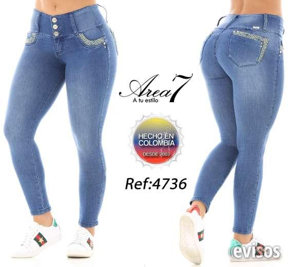 Jeans Levanta Cola Colombianos Originales Pantalones En Roselle Ropa Y Calzado 110360