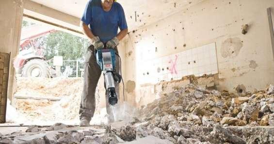 Demolicion -preparacion en general