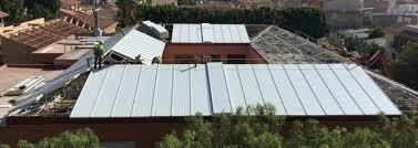 Instalacion de techado en general