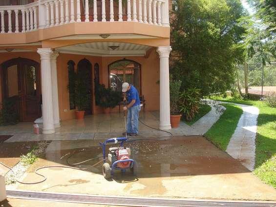 Servicio de lavado a presion